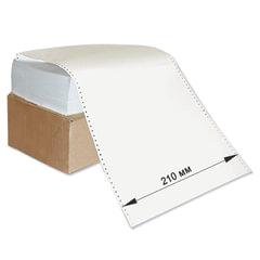 """Бумага с неотрывной перфорацией, 210х305 (12"""") х 1500 л., плотность 65 г/м2, белизна 98%"""