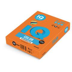 Бумага цветная IQ color, А4, 80 г/м2, 500 л., интенсив, оранжевая, OR43
