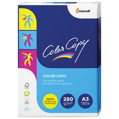 Бумага COLOR COPY, БОЛЬШОЙ ФОРМАТ (297х420 мм), А3, 280 г/м2, 150 л., для полноцветной лазерной печати, А++, Австрия, 161% (CIE)