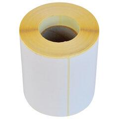 Этикетка ТермоЭко (100х50 мм), 500 этикеток в ролике, светостойкость до 2 месяцев, 111963