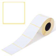 Этикетка ТермоЭко (58х60 мм), 500 этикеток в ролике, светостойкость до 2 месяцев, 122300