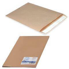 Конверт-пакеты С5 плоские (162х229 мм), до 90 листов, крафт-бумага, отрывная полоса, КОМПЛЕКТ 25 шт.