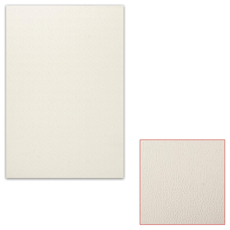 Картон белый грунтованный для масляной живописи, 25х35 см, односторонний, толщина 1,25 мм, масляный грунт