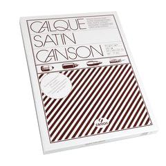 Калька CANSON Microfine, А3, 90 г/м2, пачка 250 л., белая