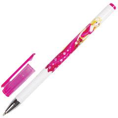 """Ручка шариковая BRAUBERG """"Леди"""", СИНЯЯ, корпус с печатью, узел 0,7 мм, линия письма 0,35 мм"""