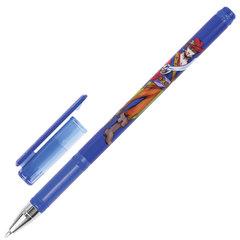 """Ручка шариковая BRAUBERG """"Корсары"""", СИНЯЯ, корпус с печатью, узел 0,7 мм, линия письма 0,35 мм"""
