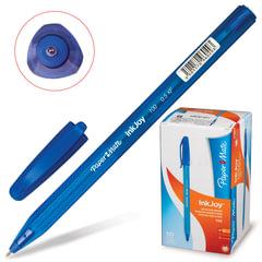 """Ручка шариковая PAPER MATE """"Inkjoy 100"""", СИНЯЯ, корпус тонированный синий, узел 0,7 мм, линия письма 0,5 мм"""