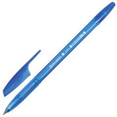 """Ручка шариковая BRAUBERG """"X-333"""", СИНЯЯ, корпус тонированный, узел 0,7 мм, линия письма 0,35 мм"""