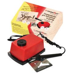 """Прибор для выжигания """"Узор-1"""" по дереву и ткани с регулировкой мощности, 2 насадки, ЭВД-20/220"""