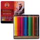 """Карандаши цветные акварельные художественные KOH-I-NOOR """"Mondeluz"""", 24 цвета, 3,8 мм, заточенные, металлическая коробка"""