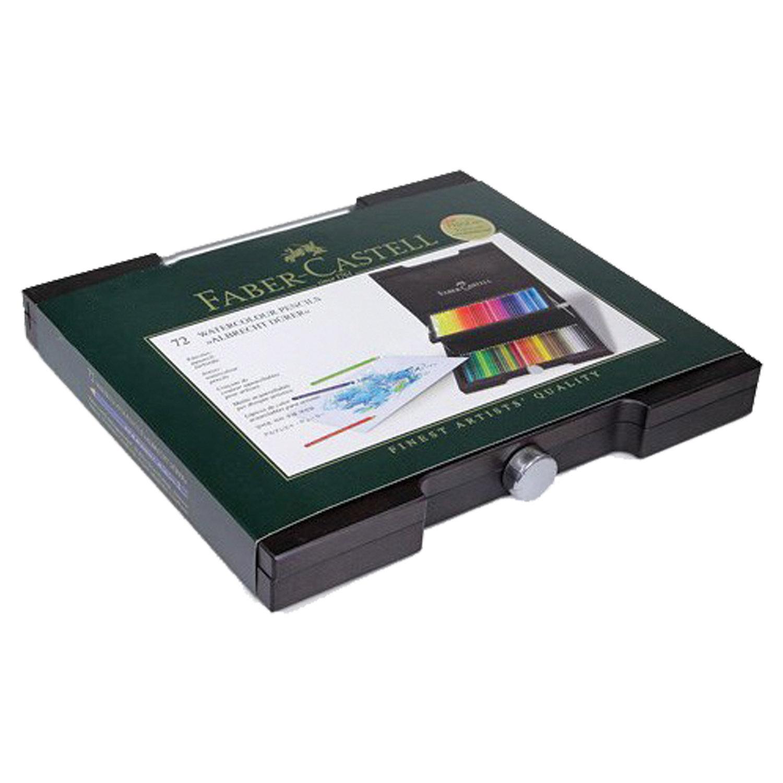 """Карандаши цветные акварельные художественные FABER-CASTELL """"Albrecht Durer"""", 72 цвета, деревянный ящик, 117572"""