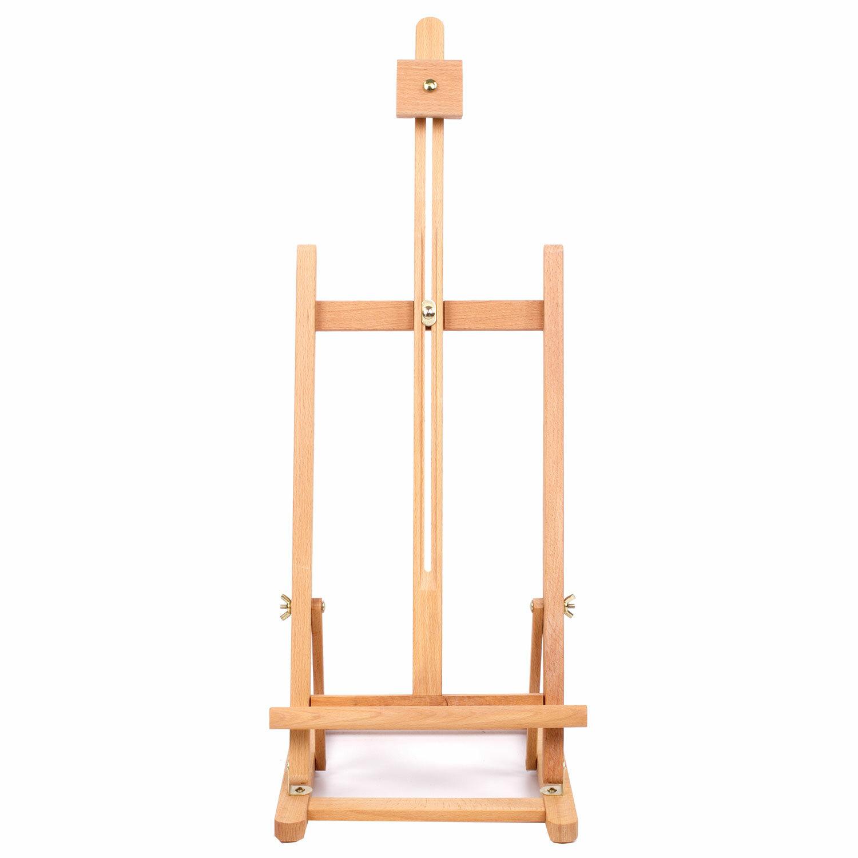 Мольберт настольный BRAUBERG ART CLASSIC, бук, 28х96х32см, высота холста 53см, 190656