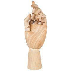 """Манекен художественный BRAUBERG ART """"CLASSIC"""", """"Рука"""", высота 25 см, женская левая, дерево, 191298"""