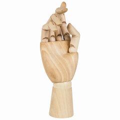 """Манекен художественный BRAUBERG ART """"CLASSIC"""", """"Рука"""", высота 25 см, женская правая, дерево, 191299"""