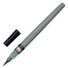 """Кисть художественная PENTEL (Япония) """"Brush Pen"""", картридж, блистер, XFP5M"""
