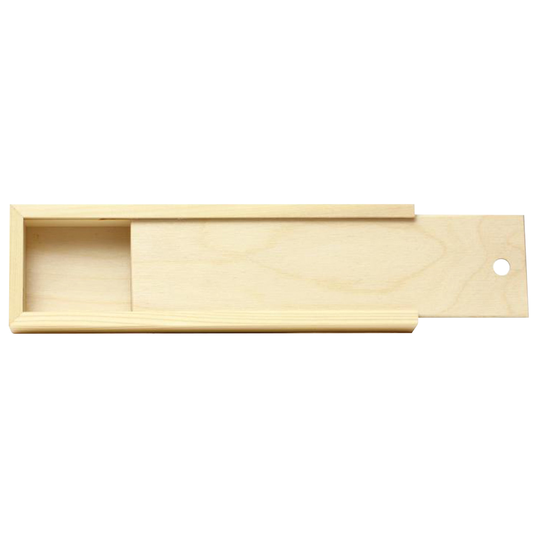 "Пенал для кистей ""Сонет"", деревянный, сосна, 35х10х4 см, 2135098"