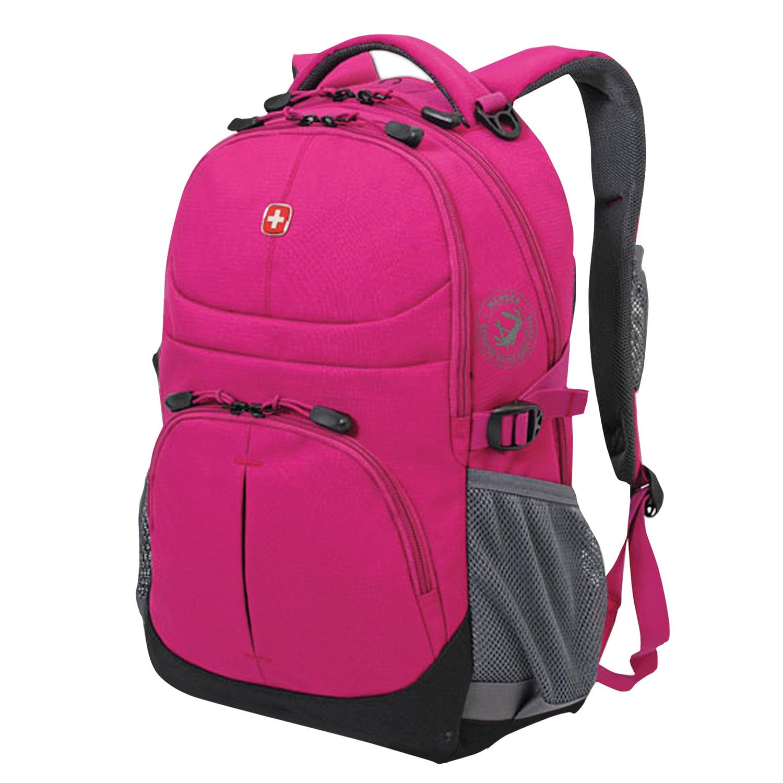 Рюкзак WENGER, универсальный, фуксия (пурпурный), 22 л, 34х14х46 см