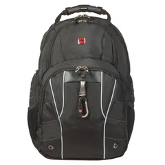Рюкзак WENGER, универсальный, черный, функция ScanSmart, 29 л, 34х18х47 см