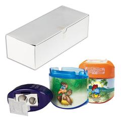 """Точилка KOH-I-NOOR """"Birds"""", 2 отверстия, пластиковая, с контейнером и крышкой, ассорти, 9095000079KS"""