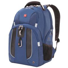 Рюкзак WENGER, универсальный, синий, 26 л, 47х34х17 см