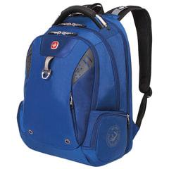 Рюкзак WENGER, универсальный, синий, функция ScanSmart, 31 л, 47х34х20 см