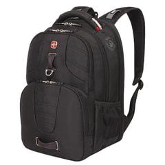 Рюкзак WENGER, универсальный, черный, функция ScanSmart, 31 л, 47х34х20 см