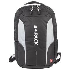 """Рюкзак B-PACK """"S-04"""" (БИ-ПАК) универсальный, с отделением для ноутбука, влагостойкий, черный, 45х29х16 см, 226950"""