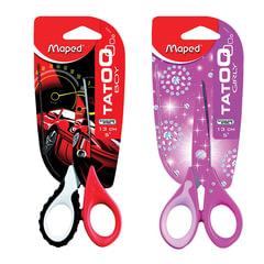 """Ножницы MAPED (Франция) """"Tatoo Innovation"""", 130 мм, с цветной печатью, цвет корпуса ассорти, 470010"""