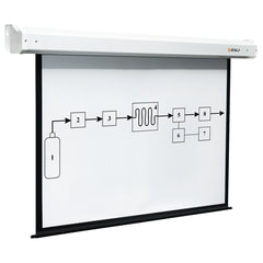 Экран проекционный настенный (200х200 см), матовый, электропривод, 1:1, DIGIS ELECTRA, DSEM-1104