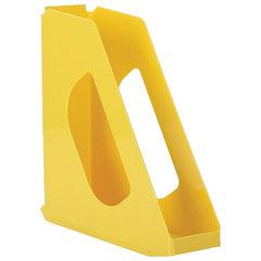 "Лоток вертикальный для бумаг ESSELTE ""VIVIDA"", ширина 72 мм, желтый"