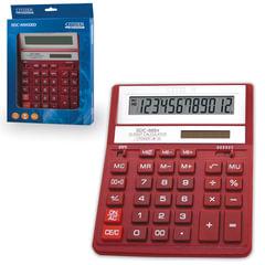 Калькулятор настольный CITIZEN SDC-888ХRD (205х159 мм), 12 разрядов, двойное питание, КРАСНЫЙ