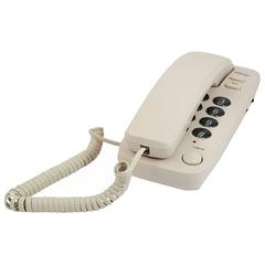 Телефон RITMIX RT-100 ivory, световая индикация звонка, отключение микрофона, слоновая кость