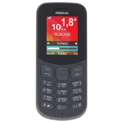 """Телефон мобильный NOKIA 130 DS, TA-1017, 2 SIM, 1,8"""", MicroSD, 0,3 Мп, черный"""