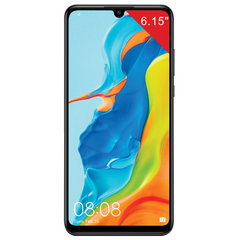 "Смартфон HUAWEI P30 lite, 2 SIM, 6,15"", 4G (LTE), 32/24+8+2 Мп, 128 ГБ, microSD, черный, пластик"