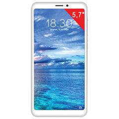 """Смартфон MEIZU M8 lite M816H, 2 SIM, 5,7"""", 4G (LTE), 5/13 Мп, 32 ГБ, MicroSD, белый, пластик"""