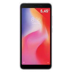 "Смартфон XIAOMI Redmi 6, 2 SIM, 5,45"", 4G (LTE), 5/5 + 12 Мп, 64 Гб, черный, пластик"