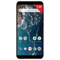 "Смартфон XIAOMI Mi A2, 2 SIM, 5,99"", 4G (LTE), 20/12 + 20 Мп, 64 Гб, черный, металл"
