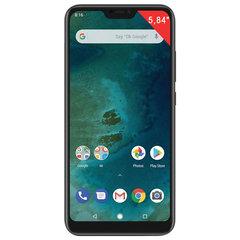 """Смартфон XIAOMI Mi A2 Lite, 2 SIM, 5,84"""", 4G (LTE), 5/5 + 12 Мп, 32 Гб, черный, металл"""