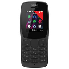 "Телефон мобильный NOKIA 110 TA-1192, 2 SIM, 1,77"", MicroSD, 0,3 Мп, черный"