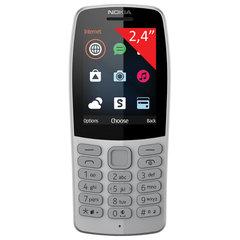 """Телефон мобильный NOKIA 210 TA-1139, 2 SIM, 2,4"""", MicroSD, 0,3 Мп, серый"""