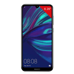 "Смартфон HUAWEI Y7 2019, 2 SIM, 6,26"", 4G (LTE), 13/8 + 2 Мп, 32 ГБ, черный, пластик"