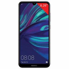 "Смартфон Huawei Y7, 2 SIM, 6,26"", 4G (LTE), 8/13 + 2 Мп, 64 ГБ, microSD, черный, пластик"