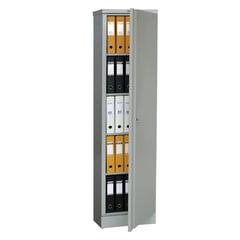 "Шкаф металлический офисный ПРАКТИК ""AM-1845"", 1830х472х458 мм, 30 кг, разборный"