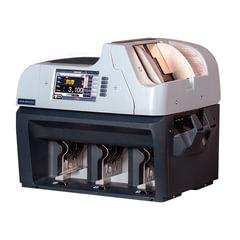 Счетчик-сортировщик банкнот MAGNER 350, 1100 банкнот/мин., ИК-, УФ- магнитная- детекция, 3 лотка