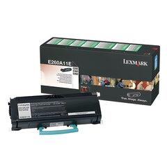 Тонер-картридж LEXMARK (E260A11E) E260/E360/E460, оригинальный, ресурс 3500 стр.
