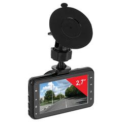 Видеорегистратор SUPRA SCR-577, экран 2,7, AV, miniUSB, HDMI, 120°, FULL HD, microSD до 32 Гб