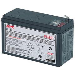 Аккумуляторная батарея для ИБП любых торговых марок, 12 В, 9 Ач, 65х151х94 мм, APC, RBC17