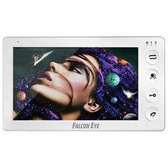 """Видеодомофон FALCON EYE Cosmo Plus, дисплей 7"""" TFT, механические кнопки, белый"""