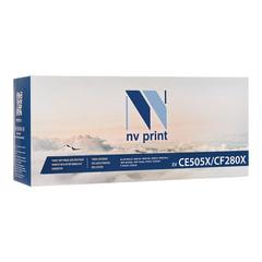 Картридж лазерный NV PRINT (NV-CF280X/CE505X) для HP LaserJet M401/M425/P2055, ресурс 6900 стр.
