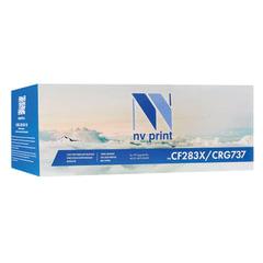 Картридж лазерный NV PRINT (NV-CF283X/737) для HP/CANON LJ M201/225/ MF211/212/216, ресурс 2200 стр.